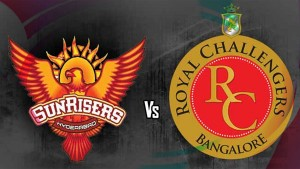 The Sunrisers Hyderabad (SRH) VS Royal Challengers Bangalore (RCB) MATCH PREDICTION